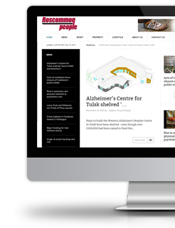 Newspaper and advertising Joomla website